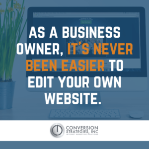 Do I Need Someone to Manage My Website? Conversion Strategies Inc - Chicago IL